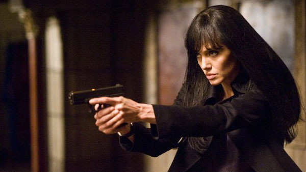 Angelina Jolie appears in a scene from the 2010...