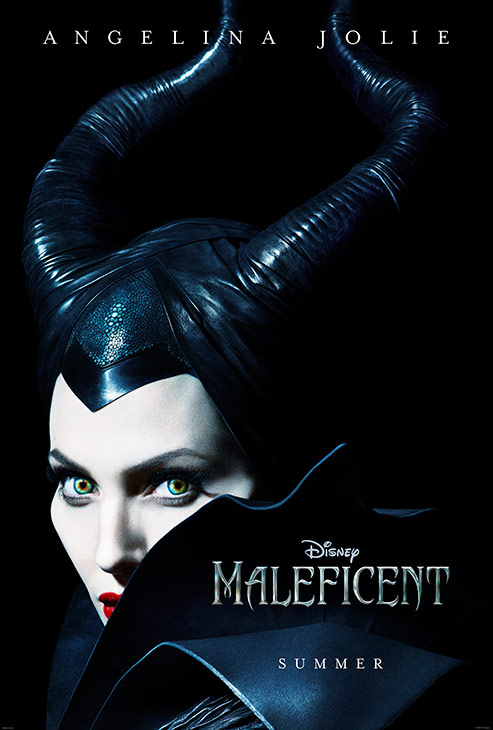 Angelina Jolie appears as the title character in an official poster for Disney&#39;s &#39;Maleficent,&#39; which is set for release on May 30, 2014. <span class=meta>(Walt Disney Studios)</span>