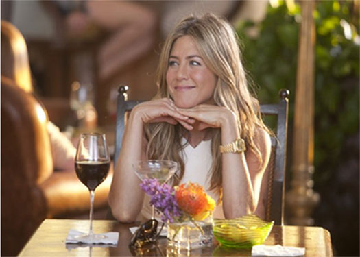 Jennifer Aniston in a scene from the 2011 film, 'Just Go With It.'