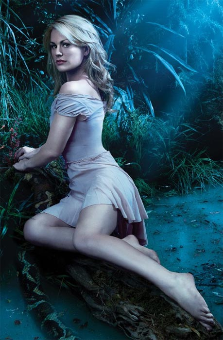 &#39;True Blood&#39; Executive Producer Alan Ball has said that that Anna Paquin aggressively pursued the role of Sookie Stackhouse on &#39;True Blood&#39; until he said yes.&#40;Pictured: Anna Paquin appears in a scenel from the HBO show &#39;True Blood.&#39;&#41; <span class=meta>(HBO)</span>