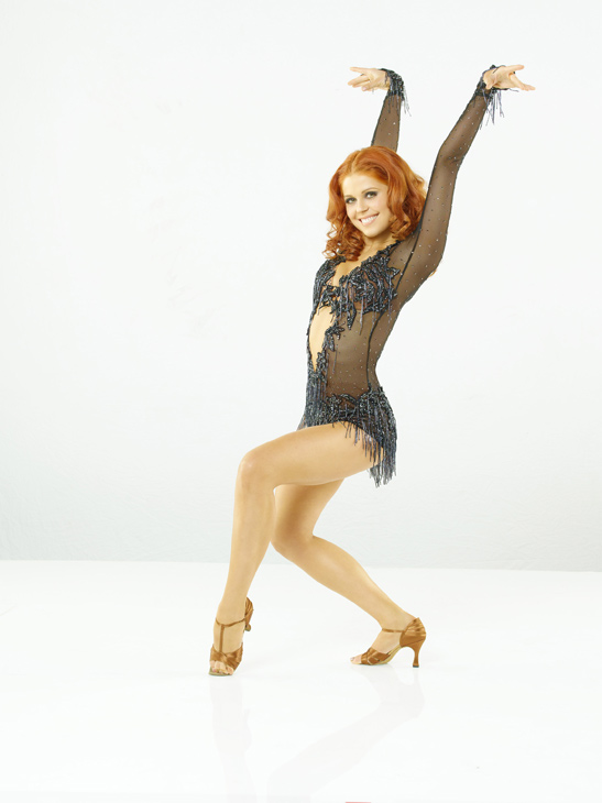 "<div class=""meta ""><span class=""caption-text "">Anna Trebunskaya, who returns for her seventh season, on season 12 of 'Dancing with the Stars,' which premieres on March 21 at 8 p.m. Her partner is Sugar Ray Leonard, the legendary boxer. (ABC Photo/ Bob D'Amico)</span></div>"