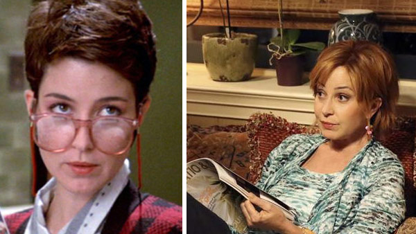 Annie Potts played secretary Janine Melnitz in the &#39;Ghostbusters&#39; films. She went on to star mainly in television shows.   She played Mary Jo Shively on &#39;Designing Women&#39; between 1986 and 1993, after which she portrayed Dana Palladino on the series &#39;Love and War&#39; until 1995. The actress played Lieutenant Lucy Preston on the series &#39;Joan of Arcadia&#39; between 2004 and 2005 and starred in several episodes of the show &#39;Men In Trees&#39; in 2007. Potts has also had small parts on &#39;Ugly Betty&#39; and &#39;Two and a Half Men.&#39; In 2012, appeared in short-lived new ABC series &#39;GCB,&#39; which also stars Broadway actress Kristin Chenoweth. In 2014, Potts appeared on the ABC Family series &#39;The Fosters.&#39;  Potts also voiced Bo Peep in the 1995 Disney-Pixar film &#39;Toy Story&#39; and reprised that part in its 1999 sequel. Potts has been married four times. She and her first husband, Steven Hartley, were together from 1973 to 1978. The actress married producer Greg Antonacci later that year and the two divorced in 1980. A year later, Potts wed director B. Scott Senechal and gave birth to their son Clay, her first child. Potts and Senechal divorced in 1989. Potts has been married to her fourth husband, producer James Hayman, since 1990. They have two sons together - Doc, born in 1992, and Harry, born in 1996.  &#40;Pictured: Annie Potts appears as Janine Melnitz in the 1984 film &#39;Ghostbusters.&#39; &#47; Annie Potts appears in a scene from the ABC family series &#39;The Fosters.&#39;&#41; <span class=meta>(Columbia Pictures &#47; ABC Family &#47; Adam Taylor)</span>