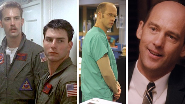 Anthony Edwards appears in scenes from 'Top Gun,' 'ER' and 'Flipped.'