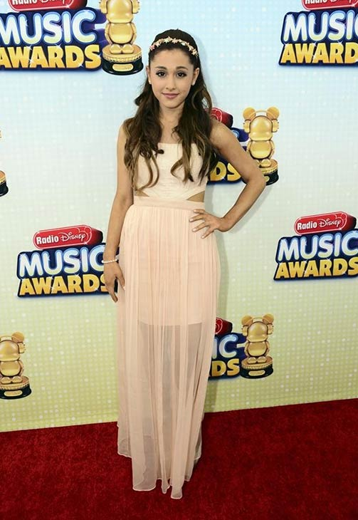 Ariana Grande attends the 2013 Radio Disney Music Awards at the Nokia Theatre L.A. Live on April 27, 2013. The event will air on the Disney Channel and on Radio Disney on May 4. <span class=meta>(Disney Channel &#47; Todd Wawrychuk)</span>