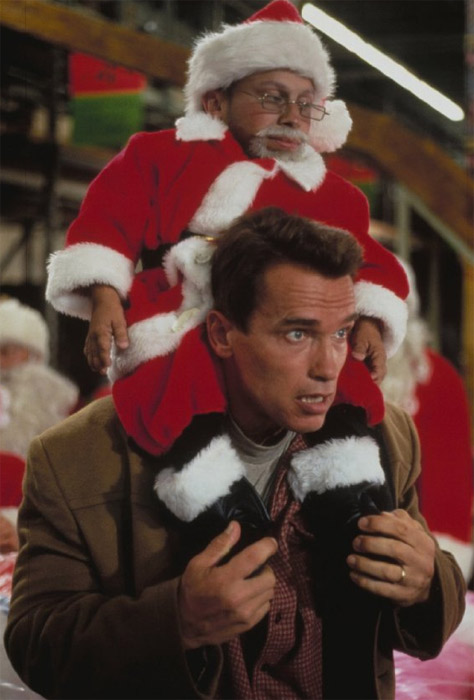 &#39;Put that cookie down. Now!&#39; - Arnold Schwarzenegger&#39;s character Howard Langston, a workaholic who tries to get an action figure for his son on Christmas Eve, says in the 1996 movie &#39;Jingle All the Way.&#39; <span class=meta>(Twentieth Century Fox Film Corporation)</span>