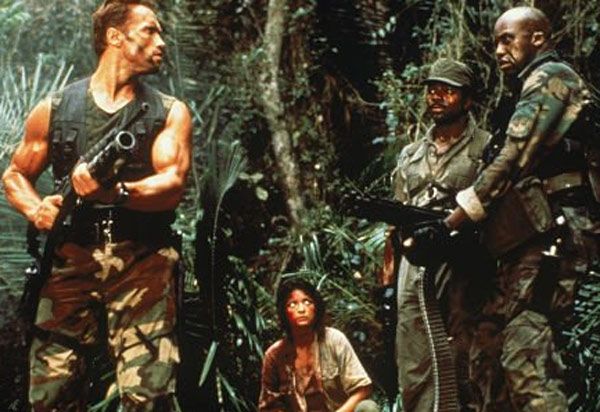 &#39;If it bleeds, we can kill it.&#39; - Arnold Schwarzenegger&#39;s character Dutch, a soldier who leads special force ops to rescue survivors abducted by guerrilla forces in Central America, says in the 1987 movie &#39;Predator.&#39; <span class=meta>(20th Century Fox)</span>