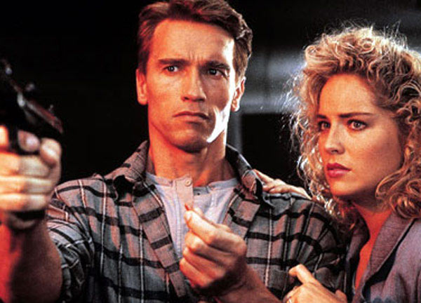&#39;Consider that a divorce!&#39; - Arnold Schwarzenegger&#39;s character Douglas Quaid, a construction worker who discovers that his reality has been invented to conceal a plot of planetary domination, says to Lori in the 1990 movie &#39;Total Recall.&#39; <span class=meta>(Carolco International N.V.)</span>
