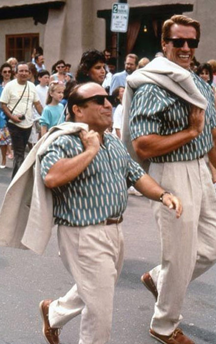 &#39;Thank you for the cookies. I look forward to tossing them&#39; - Arnold Schwarzenegger&#39;s character Julius Benedict, who played a fraternal twin with Danny Devito, says in the 1988 movie &#39;Twins.&#39; <span class=meta>(Universal Pictures)</span>