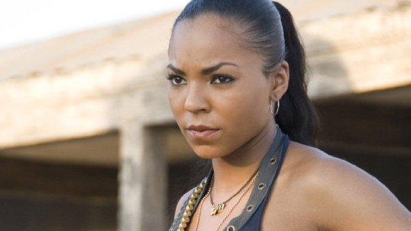 Ashanti appears in a scene from the 2007 film 'Resident Evil: Extinction.'