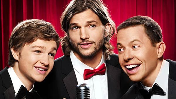 &#39;Two and a Half Men&#39; returns for a ninth season on Sept. 19, 2011 and will air on Mondays from 9 to 9:30 p.m. Ashton Kutcher will make his debut following the departure of Charlie Sheen, who was fired from the show earlier this year amid personal turmoils and a slew of on-air rants against the series co-creator.  <span class=meta>(Chuck Lorre Productions)</span>