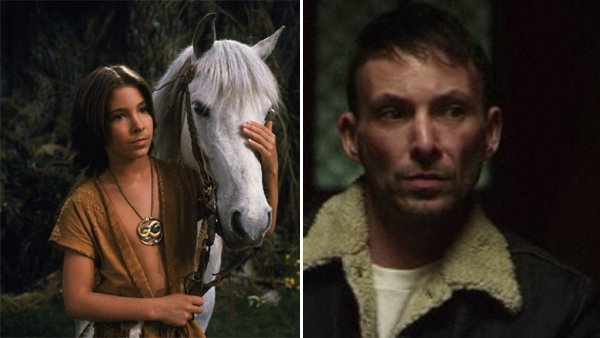 Noah Hathaway was about 12 years old when he played the hero Atreyu in the 1984 film &#39;The NeverEnding Story.&#39; He is also known for portraying Boxey on the original &#39;Battlestar Galactica&#39; series in the 1970s. After &#39;The NeverEnding Story&#39; was released, the Los Angeles native continued to act for another 10 years, taking on small roles on shows such as &#39;Family Ties.&#39; His last movie, the independent film &#39;To Die, to Sleep,&#39; came out in 1994. He then took a break from acting and pursued dancing and martial arts.  He later married a tattoo artist named Sameerah and the pair opened a tattoo business in Los Angeles. They are also raising two teenage boys.  Hathaway is making an acting comeback. In 2012, he is set to appear in three small films -  the thrillers &#39;Sushi Girl&#39; with Tony Todd &#39;The Obsession&#39; and &#39;Mondo Holocausto!.&#39; &#40;Pictured: Noah Hathaway appears in a scene from the 1984 film &#39;The NeverEnding Story.&#39; &#47; Noah Hathaway appears in a scene from the 2012 film&#39; Sushi Girl.&#39;&#41; <span class=meta>(Warner Bros. Pictures &#47; Assembly Line)</span>