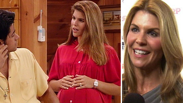 Lori Loughlin played Aunt Becky on &#39;Full House.&#39; She later had recurring roles on &#39;Hudson Street,&#39; &#39;Spin City,&#39; &#39;Summerland,&#39; and &#39;In Case of Emergency.&#39; She also starred in several movies and appeared alongside John Travolta and Robin Williams in the 2009 film &#39;Old Dogs.&#39;  She played matriarch Debbie Wilson on the CW show &#39;90210,&#39; a reboot of the 1990s series &#39;Beverly Hills, 90210,&#39; between 2008 and 2011. In 2013, she starred on an episode of ABC&#39;s &#39;The Neighbors&#39; and in 2014, she began appearing on the Hallmark Channel series &#39;When Calls the Heart.&#39;  Loughlin was married to her first husbamd, Michael Burns, between 1989 and 1996. She wed Mossimo Giannulli, creator of the popular &#39;Mossimo&#39; clothing line, in 1997. They have two daughters together -Isabella Rose, born in September 1998, and Olivia Jade, born in September 1999.  &#40;Pictured: Lori Loughlin appears with John Stamos in a scene from &#39;Full House.&#39; &#47; Lori Loughlin speaks to OTRC.com at AARP The Magazine&#39;s 10th annual &#39;Movies for Grownups&#39; Award Gala on Feb. 7, 2011.&#41; <span class=meta>(Jeff Franklin Productions &#47; ABC &#47; OTRC)</span>