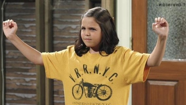 Bailee Madison appears in a scene from the Disney show 'Wizards of Waverly Place.'