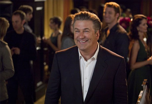 Before starring in the hit-comedy show &#39;30 Rock,&#39; Alec Baldwin used his trade mark deep, raspy voice as a bouncer to keep people safe and out of trouble. <span class=meta>(Universal Pictures)</span>