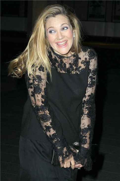 Drew Barrymore attends the New York City Ballet 2013 Fall Gala at the David H. Koch Theater at Lincoln Center in New York on Sept. 19, 2013.