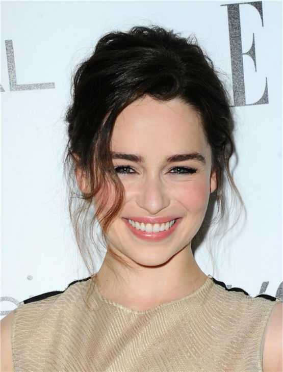 Emilia Clarke of 'Game of Thrones' attends ELLE's 20th Annual Women In Hollywood gala in Beverly Hills, California on Oc