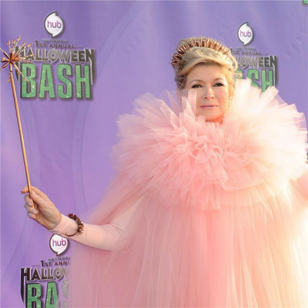 Martha Stewart attends the Hub Network's first annual Halloween Bash in Santa Monica, California on Oct. 20, 2013. She served as a judge at the event.