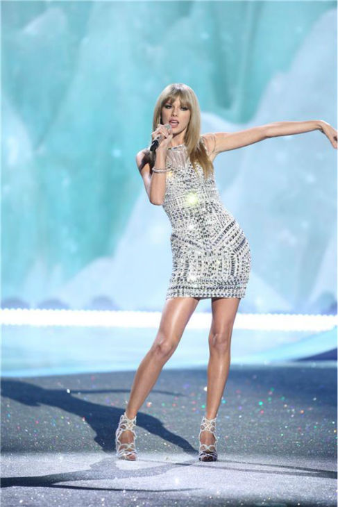 "<div class=""meta image-caption""><div class=""origin-logo origin-image ""><span></span></div><span class=""caption-text"">Taylor Swift performs on the runway at the 2013 Victoria's Secret Fashion Show at the Lexington Armory in New York on Nov. 13, 2013. (Amanda Schwab / Startraksphoto.com)</span></div>"
