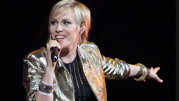 Natasha Bedingfield turns 31 on Nov. 26, 2012. The British pop-singer and songwriter is known for songs such as &#39;Pocketful of Sunshine&#39; and &#39;Unwritten.&#39;Pictured: Natasha Bedingfield appears in a photo from her performance at the New Kids On the Block concert in 2008. <span class=meta>(flickr.com&#47;photos&#47;melodramababs&#47;)</span>
