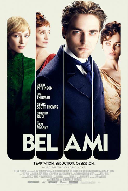 Robert Pattinson, Kristin Scott Thomas, Christina Ricci and Uma Thurman appear in a poster for the 2012 movie &#39;Bel Ami.&#39; <span class=meta>(Studiocanal GmbH &#47; Digital)</span>