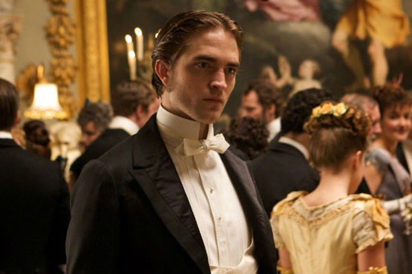 Robert Pattinson appears in a still from the 2012 movie 'Bel Ami.'