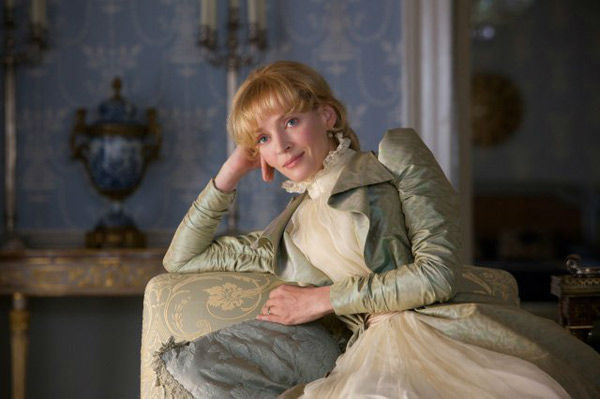 Uma Thurman appears in a still from the 2012 movie 'Bel Ami.'