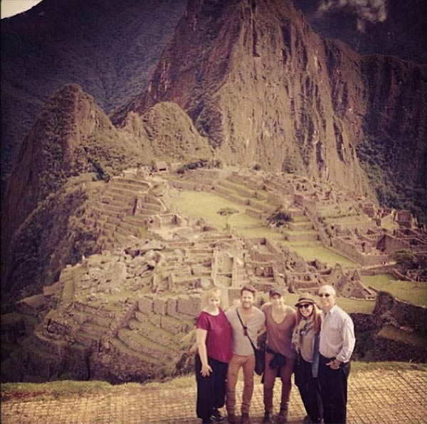 Nate Berkus, an interior designer who appeared regularly on &#39;The Oprah Winfrey Show&#39; and once hosted his own daytime talk series, got engaged to his boyfriend, Jeremiah Brent, on April 8, 2013. Berkus proposed to him while visiting Machu Picchu in the mountains of Peru.  Brent posted a photo of the group on Instagram &#40;pictured above&#41;.  &#39;Machu Picchu @nate_berkus @susankfeldman @allmoxie #lifechanging #specialday,&#39; he said. <span class=meta>(twitter.com&#47;JeremiahBrent&#47;status&#47;321429251570159616 &#47; instagram.com&#47;p&#47;X3W9VoTUT1&#47;)</span>
