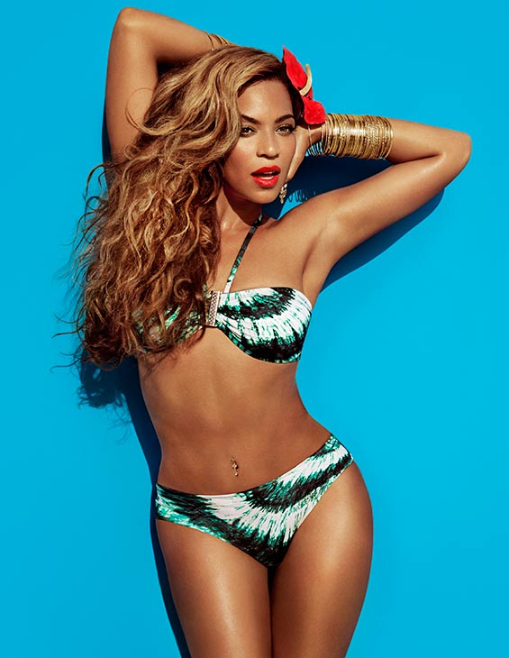 Beyonce appears in a 2013 ad for H&#38;M. <span class=meta>(Dior)</span>