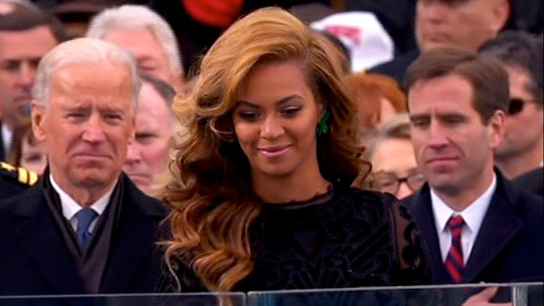 "<div class=""meta image-caption""><div class=""origin-logo origin-image ""><span></span></div><span class=""caption-text"">Beyonce performs the national anthem after President Barack Obama's ceremonial swearing-in ceremony during the 57th Presidential Inauguration. (ABC News)</span></div>"