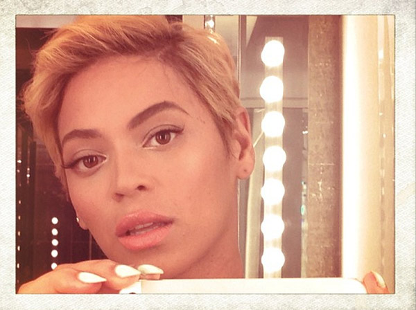 Beyonce debuts a new pixie cut on her Instagram page on Aug. 7, 2013. - Provided courtesy of instagram.com/p/cvRXoIPw0T/ instagram.com/beyonce