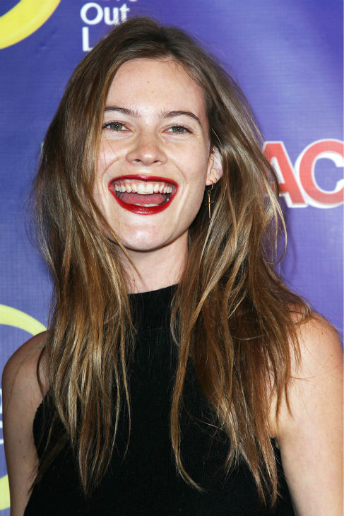 Victoria's Secret Angel Behati Prinsloo attends the premiere of the Oxygen reality show 'The Face' (that features Naomi Campbell, Karolina Kurkova, Coco Rocha and Nigel Barker) at the Marquee Nightclub in New York on Feb. 5, 2013.