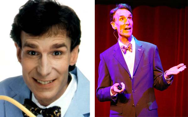Bill Nye, otherwise known as Bill Nye the Science Guy, used his expertise in science and humor in his own show to get kids interested in science. Since his show, also called &#39;Bill Nye, the Science Guy,&#39; ended in 1998 after about five years, Nye stuck to his scientific expertise and quirky bow ties. He made several television appearances in shows like &#39;Stargate: Atlantis&#39; in 2008.  In 2011, he filmed a documentary, &#39;Zero Energy America.&#39;  In November 2010, Nye collapsed during a speech at the University of Southern California &#40;USC&#41;, then quickly got up and continued his presentation. A student witness said that Nye collapsed in mid-sentence at the podium and about 10 seconds later he regained consciousness and asked the audience how long he was out.  Nye will compete on ABC&#39;s &#39;Dancing With The Stars&#39; in Fall 2013. &#40;Pictured: Bill Nye appears in a publicity photo for &#39;Bill Nye, the Science Guy.&#39; &#47; Bill Nye speaks in front of hundreds of people at the University of Southern California in 2010.&#41; <span class=meta>(KCTS Seattle&#47;Tim Tran-Daily Trojan)</span>