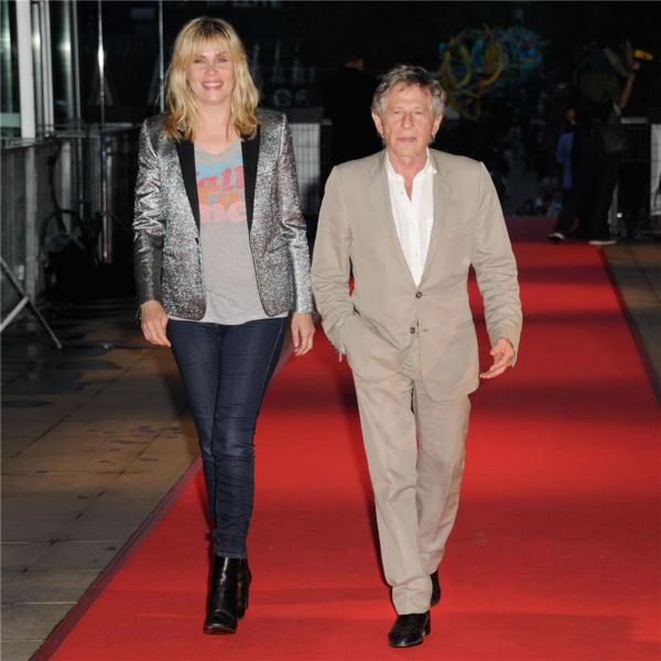Emmanuelle Seigner and husband and director Roman Polanski attend the premiere of Woody Allen&#39;s film &#39;Blue Jasmine&#39; at the UGC Cine Cite Bercy in Paris on Aug. 27, 2013.om <span class=meta>(Alban Wyters &#47; Abaca &#47; startraksphoto.com)</span>