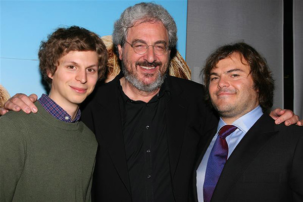 Jack Black, who starred in &#39;Year One,&#39; a comedy film directed and co-written by Harold Ramis, said this in a statement to OTRC.com in response to the star&#39;s death on Feb. 24, 2014: &#39;Harold was a force of good in the universe.  So funny, sweet and thoughtful.  He will be deeply missed.&#39;   &#40;Pictured: Jack Black appears with Harold Ramis and Michael Cera at the premiere of &#39;Year One&#39; in New York on June 15, 2009.&#41; <span class=meta>(Dave Allocca &#47; Startraksphoto.com)</span>