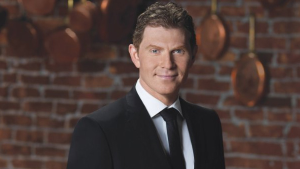 Bobby Flay appears in a scene from the Food Network show 'The Next Food Network Star.'