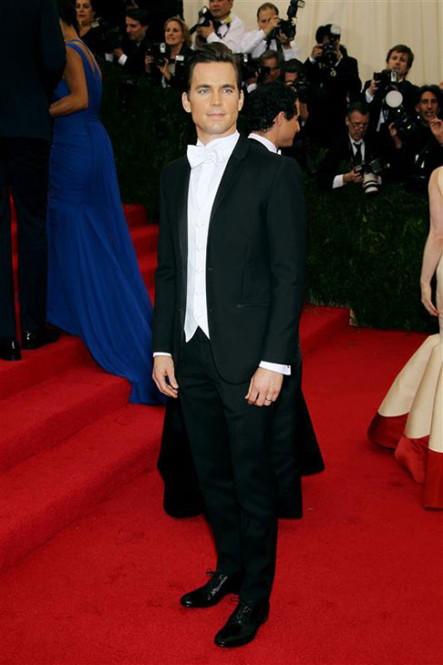 Matt Bomer appears at the Metropolitan Museum of Art&#39;s 2014 Costume Institute Benefit gala, celebrating &#39;Charles James: Beyond Fashion,&#39; in New York on May 5, 2014. <span class=meta>(Marion Curtis &#47; Startraksphoto.com)</span>