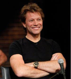 Before a great rock career and crafting great music, Jon Bon Jovi crafted holiday decorations while living in New Jersey. In 1980 he went to work as a janitor at his cousin&#39;s recording studio where he was asked to sing and record his first holiday single called. &#39;R2-D2 We Wish You a Merry Christmas,&#39; reported by the NY Daily News.   <span class=meta>(NBC Universal&#47;Mary Ellen Matthews)</span>