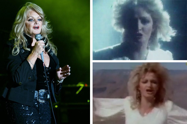 Bonnie Tyler turns 61 on June 8, 2012. The Welsh singer, whose birth name was Gaynor Hopkins, is best known for the 1983 power ballad &#39;Total Eclipse of the Heart&#39; and the 1984 song &#39;Holding Out For A Hero,&#39; which is featured in the original &#39;Footloose&#39; film. &#40;Pictured: Bonnie Tyler performs at the Radio Oberosterreich Summer Open Air event at the Aquapulco, Bad Schallerbach in Austria on July 24, 2010, as seen in this photo posted on her MySpace page. &#47; Bonnie Tyler appears in music videos for &#39;Total Eclipse of the Heart&#39; and &#39;Holding Out For A Hero.&#39;&#41; <span class=meta>(myspace.com&#47;bonnietyler01 &#47; Columbia Records)</span>
