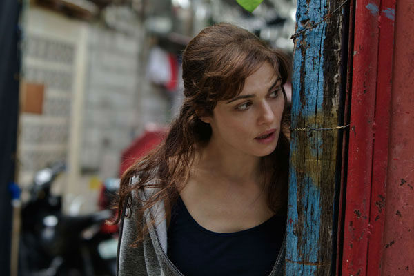 Rachel Weisz appears in a photo from the 2012 action thriller 'The Bourne Legacy.'