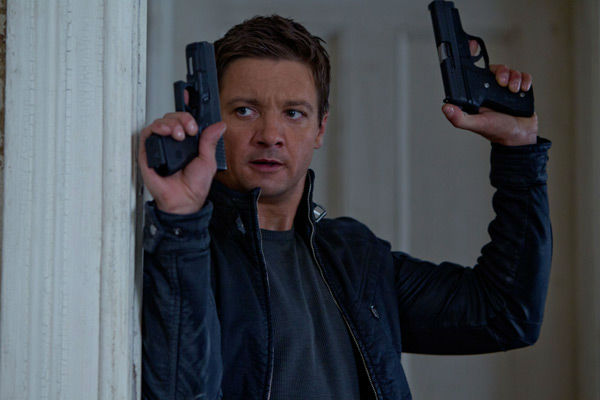 Jeremy Renner appears in a photo from the 2012 action thriller 'The Bourne Legacy.'