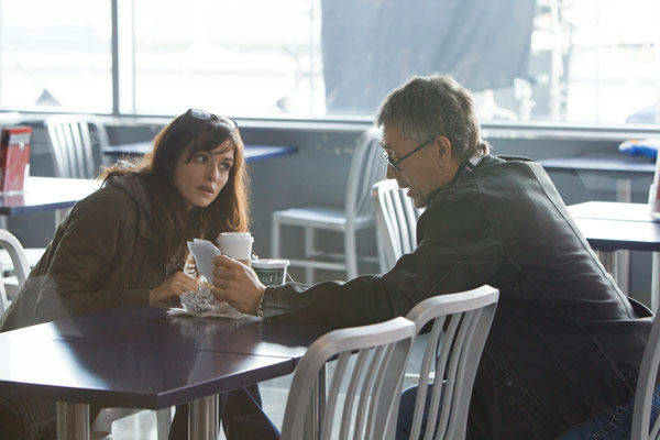 Jeremy Renner and Rachel Weisz appear in a photo from the 2012 action thriller 'The Bourne Legacy.'