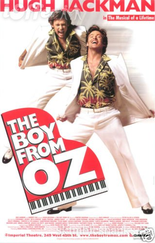 Hugh Jackman made headlines in 2003 when he played ostentatious and openly gay songwriter&#47;singer Peter Allen in &#39;The Boy From Oz&#39; on Broadway.Jackman&#39;s performance earned him a Tony nomination.Jackman joked with People magazine that to prepare for the role, &#39;I just have a pina colada when I get to the theater and, bang, that&#39;s it. That&#39;s all you need to bring out your inner Peter Allen.&#39;&#40;Pictured: Hugh Jackman appears in a promotional poster for the Broadway musical &#39;The Boy From Oz.&#39;&#41; <span class=meta>(Imperial Theatre)</span>