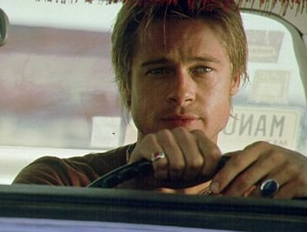 Brad Pitt appears in a scene from the 2001 film 'The Mexican.'