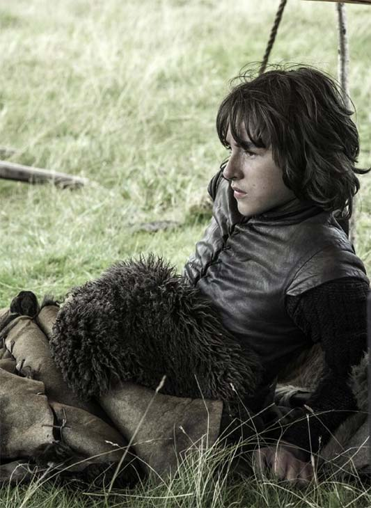 Isaac Hempstead Wright appears as Bran Stark in a scene from season 3 of the HBO show 'Game of Thrones.'