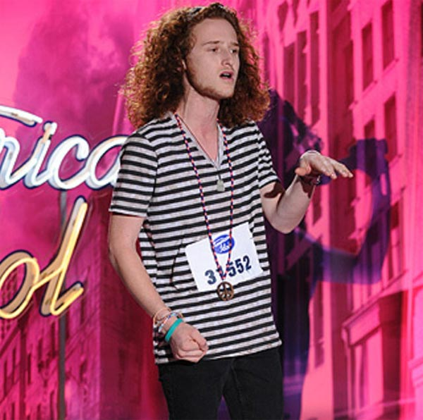 "<div class=""meta ""><span class=""caption-text "">Brett Loewenstern, a 17-year-old from West Palm Beach, was made an 'American Idol' Top 24 finalist. (Pictured: Brett Loewenstern performs in front of the judges on 'American Idol' on an episode that aired on Jan. 19, 2011.) (Michael Becker / FOX)</span></div>"