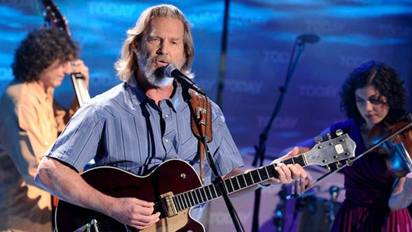 Jeff Bridges during his appearance on 'The Today Show' on August 16, 2011.