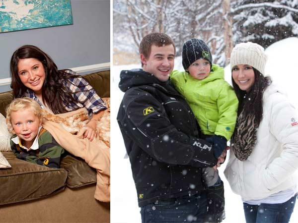 Bristol Palin and son Tripp appear in a promotional photo for her new Lifetime reality show Bristol Palin: Lifes a Tripp, which premieres on June 19, 2012 at 10 p.m. - Provided courtesy of A and E Television Networks, LLC. / Richard Knapp