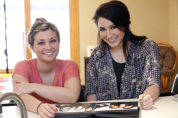Bristol Palin and sister Willow appear in a promotional photo for her new Lifetime reality show &#39;Bristol Palin: Life&#39;s a Tripp,&#39; which premieres on June 19, 2012 at 10 p.m. ET. <span class=meta>(A and E Television Networks, LLC. &#47; Richard Knapp)</span>