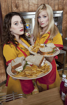 The new comedy series &#39;2 Broke Girls&#39; debuts on CBS on Sept. 19, 2011 and will air on Mondays from 9:30 to 10 p.m. <span class=meta>(CBS Television Network)</span>