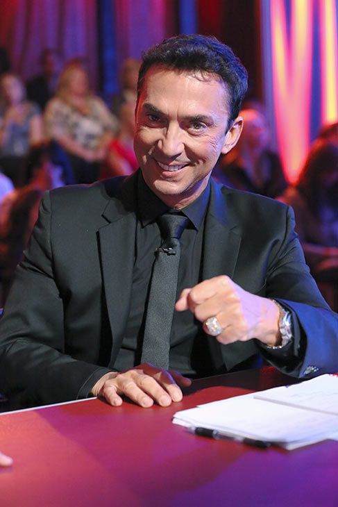 "<div class=""meta ""><span class=""caption-text "">'Dancing With The Stars' co-judge Bruno Tonioli appears on the season premiere on March 18, 2013. (ABC Photo / Adam Taylor)</span></div>"